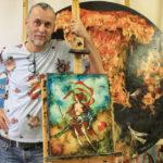 Újbuda – kiállításaival a világot bejárt – festőművésze, Győrfi András most épp egy könyvet adott ki nagy örömünkre…