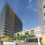 14 emeletes toronyházak épülnek Albertfalván, megnevezésük szerint rezidenciák….